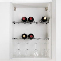 Wine Bottle Shelf