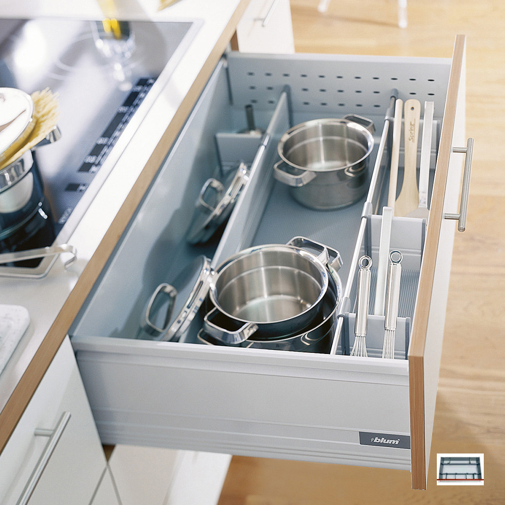 Pan dividers storage for pots and pans pan drawer divider Pantry 800mm