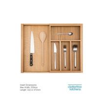 Small Adjustable Cutlery Insert