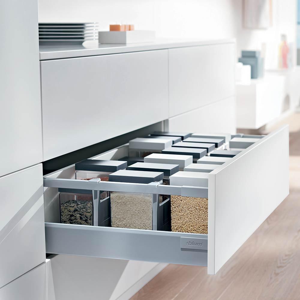 Antaro drawer storage set clutterfree kitchens for Kitchen set below 500