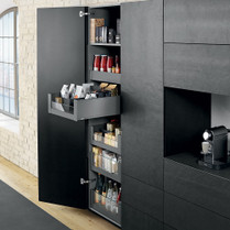 larder drawers space tower pull out larder drawers. Black Bedroom Furniture Sets. Home Design Ideas