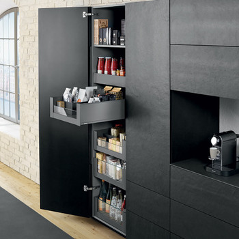blum larder drawers legrabox. Black Bedroom Furniture Sets. Home Design Ideas