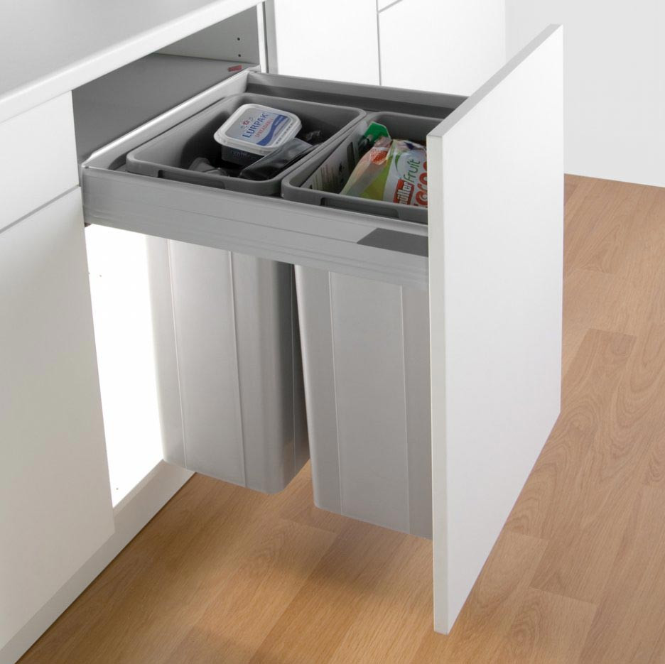 Pullboy Z Waste Bin For 600mm Cabinets
