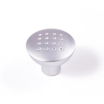 Dimple - Satin Chrome Knob