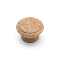 Laithe Ridge - Raw Oak Wooden Knob