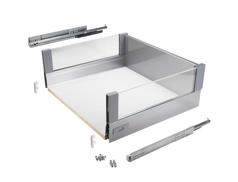 300mm glazed atira deep drawer 176 clutterfree kitchens for 300mm deep kitchen units