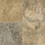 Armstrong Alterna Reserve Classico Travertine Cameo Brown Gray Vinyl Tile