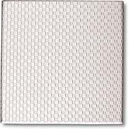 """Crossville Tile Stainless Series 4""""X4"""" Squares Stainless Steel"""