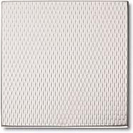 """Crossville Tile Stainless Series 6""""X6"""" Rice Stainless Steel"""