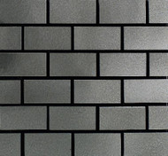 """Daltile Urban Metals Stainless 1""""X2"""" Brick Joint"""