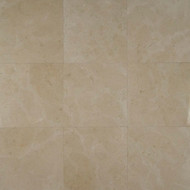 """Bedrosians Marble Tile Crema Marfil Select 18"""" x 18"""""""