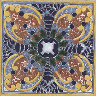 "Arizona Tile Seville  6"" x 6"" Isabel Deco"