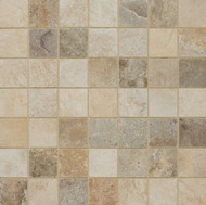 "Cerdomus Tile Rok Mixed Colors 2"" x 2"" Mosaic"