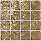 """Daltile Egyptian Glass Pyramid Iridescent Solid Mosaic 1"""" x 1"""""""