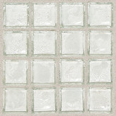 """Daltile Egyptian Glass Isis Clear Mosaic 2"""" x 2"""""""