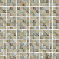"Arizona Tile Skylights Cottage Melange 9/16"" x 9/16"" Glass/Stone Mosaic"