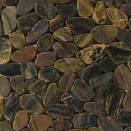 "Emser Tile Rivera Pebbles Flat Pebble Forest 12"" x 12"""