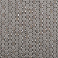 Emser Tile Confetti Silver Penny Round Mosaic W85CONFSI1212MOP