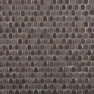 Emser Tile Confetti Pewter Penny Round Mosaic W85CONFPE1212MOP