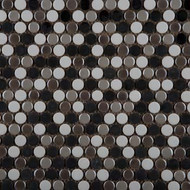 Emser Tile Confetti Gelido Blend Penny Round Mosaic W85CONFGE1212MOP