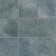 "Crossville Tile Color Box Blue Suede Shoes 12"" x 12"""