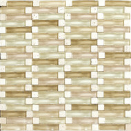 Daltile Intertwine (PTS) F173 Ripple 5/8x2 Mosaic