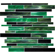 Daltile Serenade F189 Emerald City Random Random Interlocking