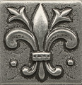 Bedrosians Ambiance  Promenade 2x2 Metal Pewter