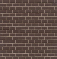 Bedrosians ID-ology WAL Walnut 1/2x1 Solid Matte Staggered Mosaic