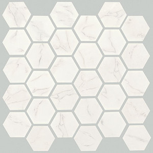 Crossville virtue av260 2 x 2 hexagon cross sheen for Crossville tile virtue