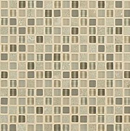 "Crossville Tile Ebb & Flow Flora and Fauna 1/2"" x 1/2"" Mosaic"