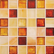 "Hirsch Glass Blended Ice Scotch & Soda 1"" x 1"" Mosaic"