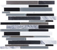 Anatolia Stainless/Glass/Stone Artic Night Linear