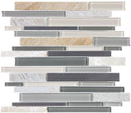 Anatolia Stainless/Glass/Stone Fossil Rock Linear