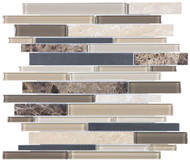 Anatolia Stainless/Glass/Stone Woodland Park Linear