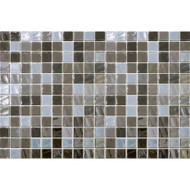 Daltile Uptown Glass Pearl Taupe Mosaic