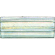 Daltile Cristallo Glass Aquamarine Chair Rail