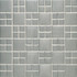 Daltile Metallica Brushed Stainless Steel Square Combination