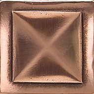 Daltile Massalia Copper Tile Pinnacle Dot