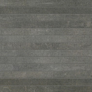 Arizona Tile Reside Black Stack Straight Joint Mosaic