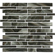 American Olean Refluence Glass Torrent Linear Mosaic