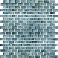 Marazzi Studio M Glass Mosaic Brick Flamenco