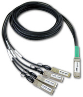 DATA CENTER OPTICS  CAB-QSFP-4SFP10G-DACP-5M