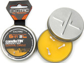 Exotac candleTIN Emergency Heat Survival Candle Tin Hot Burning