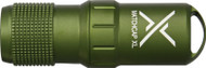 Exotac MatchCap XL Survival Water Proof Match Case and Striker OD Green 1200-OD