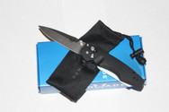 Benchmade Emissary Osborne Assisted Opening Pocket Knife Black Handle 470-1