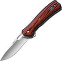 Buck Knives Vantage Avid Knife Dymondwood Handles Plain Edge 346RWS