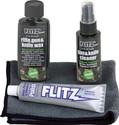 Flitz Gun/Knife Car Kit Polish Wax Cleaner and Microfiber Cloth 41501