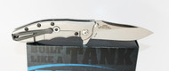 Zero Tolerance 0562CF Hinderer Slicer Knife Carbon Fiber Handle CTS-204P Steel