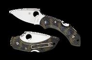 Spyderco DRAGONFLY 2 Pocket Knife Zome Green FRN Handle C28ZFPGR2 Plain Edge
